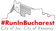 #RunInBucharest Logo